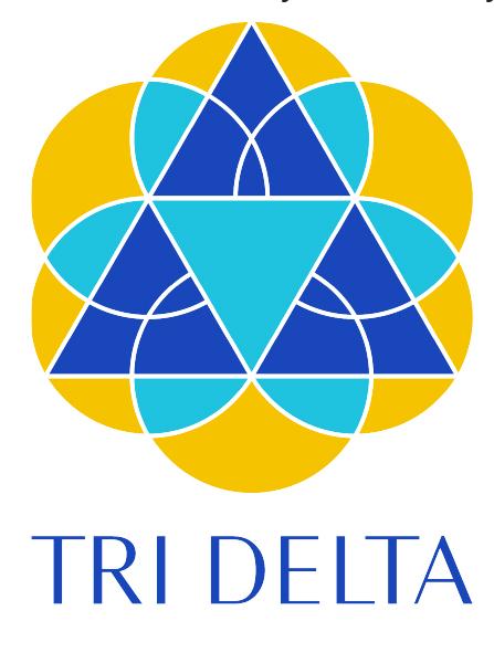 Tri Delta Tricon Logo